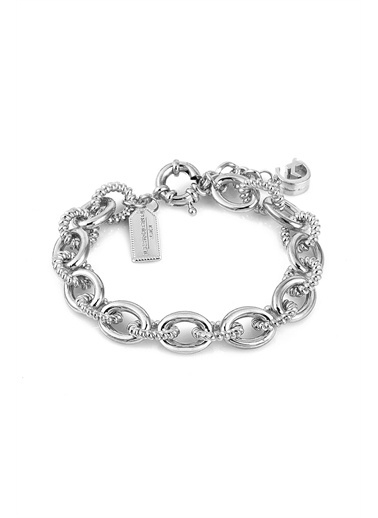 Alberto Guardiani Alberto Guardiani Ag10392Blk Jewelery Bileklik Gümüş